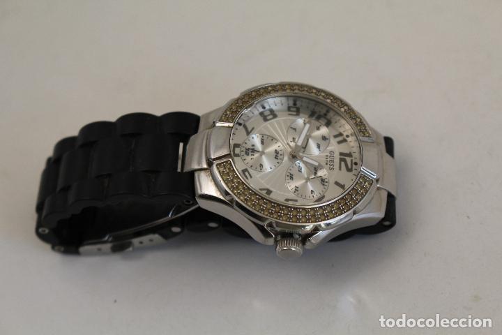 Relojes - Guess: Reloj De Colección Guess diamantes 5 ATM- - Foto 2 - 232776145