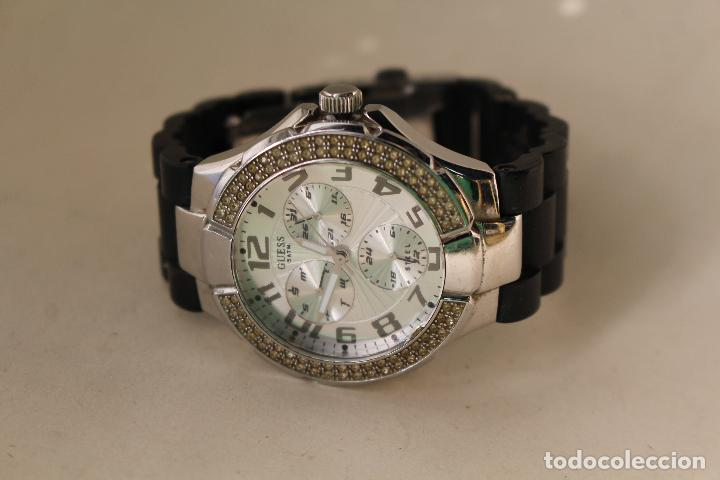 Relojes - Guess: Reloj De Colección Guess diamantes 5 ATM- - Foto 6 - 232776145