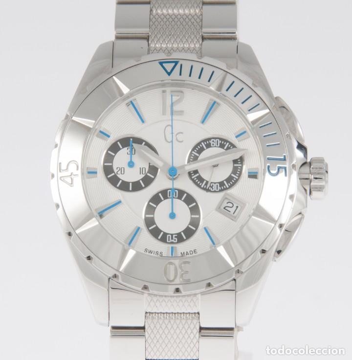 GUESS COLLECTION QUARTZ CHRONOGRAPH 39MM 41500M1 NOS (NEW OLD STOCK) (Relojes - Relojes Actuales - Guess)