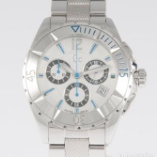 Relojes - Guess: GUESS COLLECTION QUARTZ CHRONOGRAPH 39MM 41500M1 NOS (NEW OLD STOCK). Lote 218589991