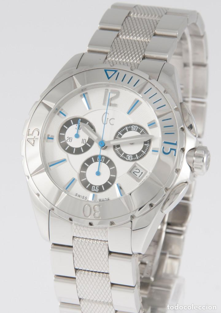 Relojes - Guess: Guess Collection Quartz Chronograph 39mm 41500M1 NOS (New Old Stock) - Foto 2 - 218589991