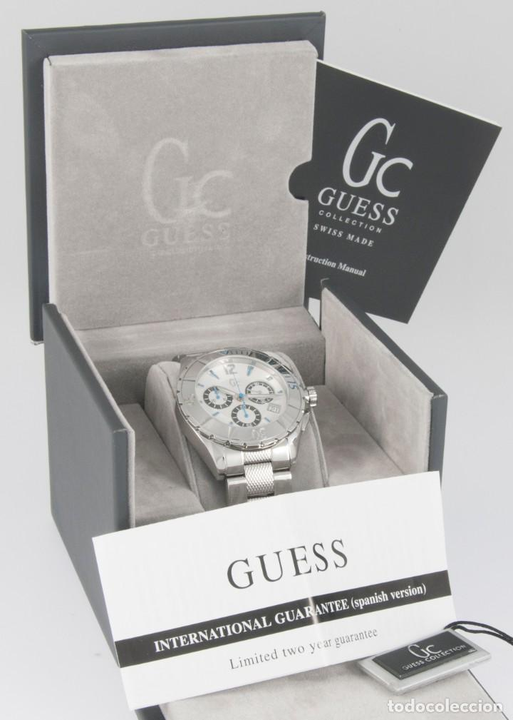 Relojes - Guess: Guess Collection Quartz Chronograph 39mm 41500M1 NOS (New Old Stock) - Foto 3 - 218589991