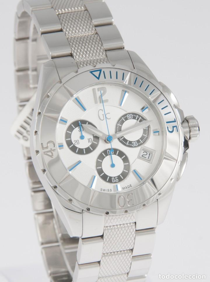 Relojes - Guess: Guess Collection Quartz Chronograph 39mm 41500M1 NOS (New Old Stock) - Foto 5 - 218589991