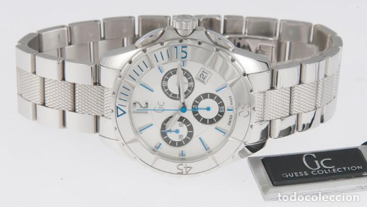Relojes - Guess: Guess Collection Quartz Chronograph 39mm 41500M1 NOS (New Old Stock) - Foto 7 - 218589991