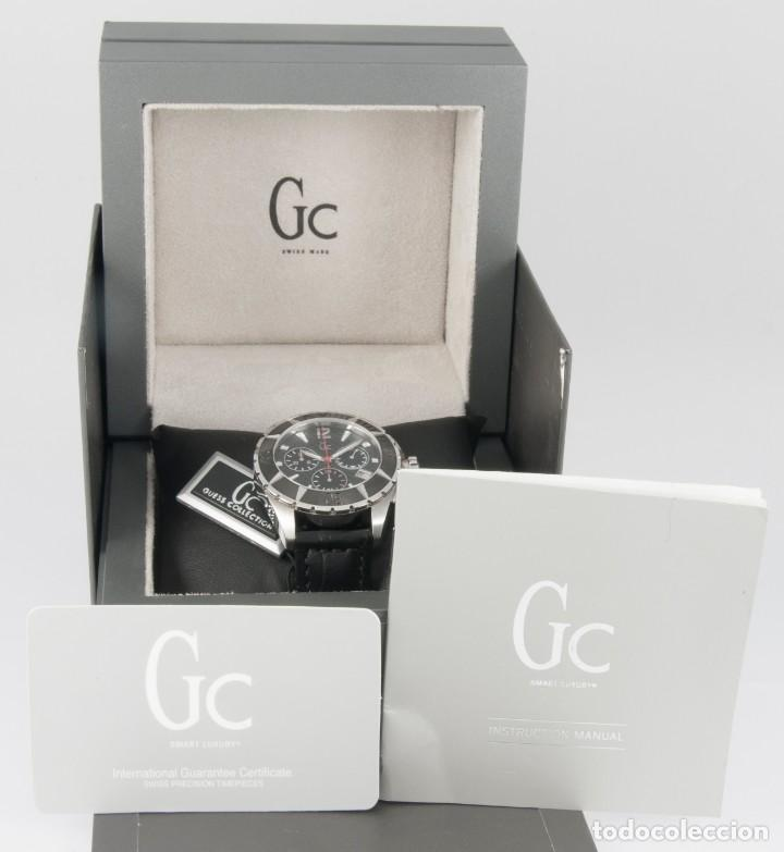 Relojes - Guess: Guess Collection Quartz Chronograph 39mm 30008M1 NOS (New Old Stock) - Foto 3 - 218590108