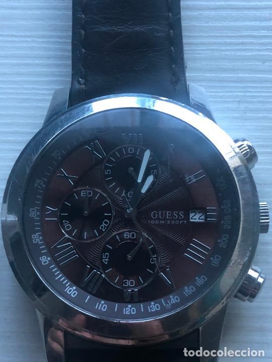 Relojes - Guess: PRECIOSO RELOJ CABALLERO CRONOGRAFO GUESS EN FUNCIONAMIENTO. VER FOTOS - Foto 2 - 226497595