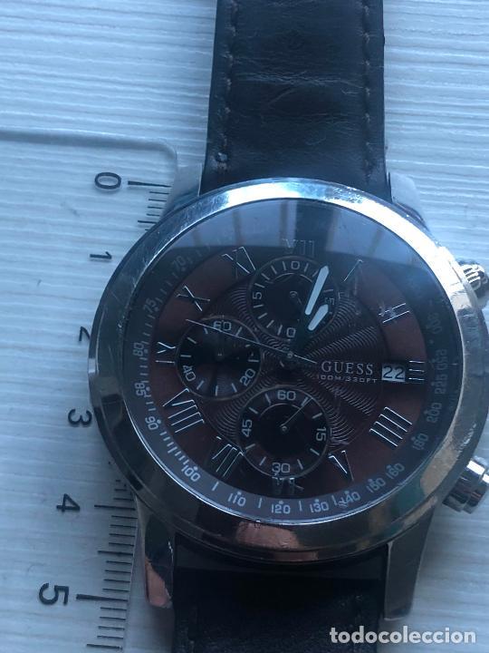 Relojes - Guess: PRECIOSO RELOJ CABALLERO CRONOGRAFO GUESS EN FUNCIONAMIENTO. VER FOTOS - Foto 3 - 226497595