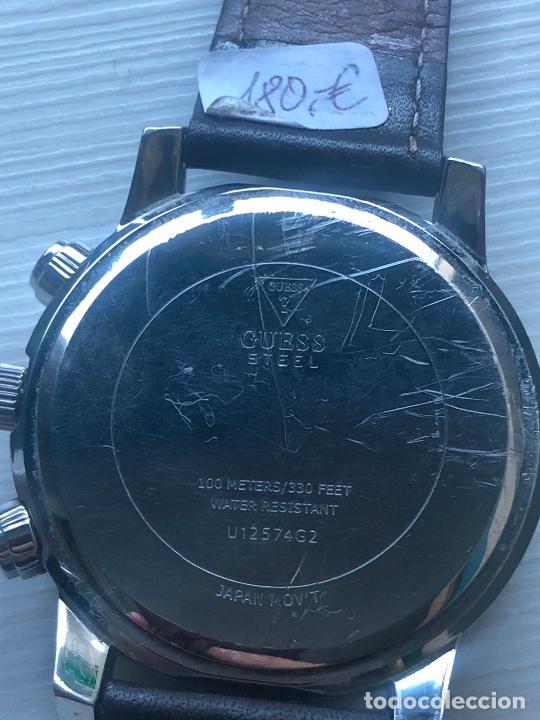 Relojes - Guess: PRECIOSO RELOJ CABALLERO CRONOGRAFO GUESS EN FUNCIONAMIENTO. VER FOTOS - Foto 4 - 226497595