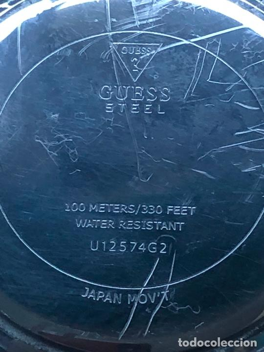Relojes - Guess: PRECIOSO RELOJ CABALLERO CRONOGRAFO GUESS EN FUNCIONAMIENTO. VER FOTOS - Foto 5 - 226497595
