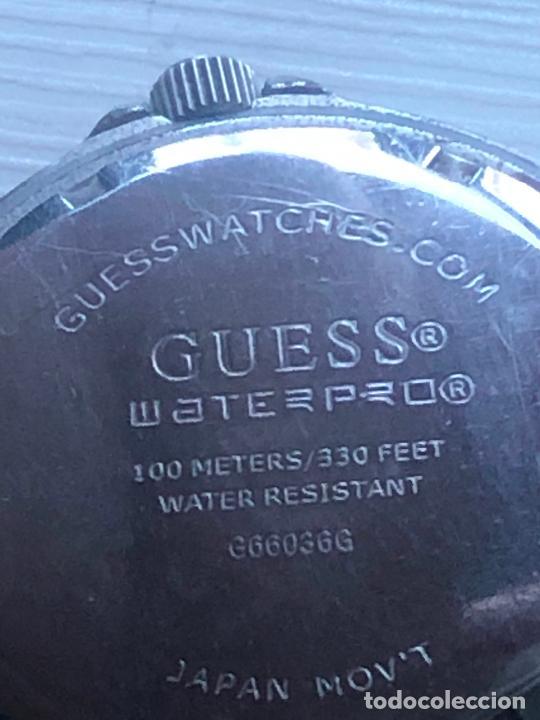 Relojes - Guess: Precioso reloj caballero caja y correa acero bimetálica en funcionamiento. Ver fotos - Foto 5 - 226579995