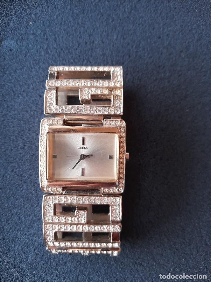 Relojes - Guess: RELOJ GUESS PULSERA ORIGINAL, POCO USO - Foto 2 - 231064840