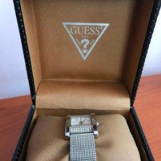 Relojes - Guess: PRECIOSO RELOJ MUJER MARCA GUESS, EN SU ESTUCHE ORIGINAL. Lote 240809310