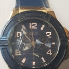 Relojes - Guess: RELOJ GUESS CABALLERO 100M/330FT FUNCIONANDO CRISTAL TOCADO. Lote 246303670