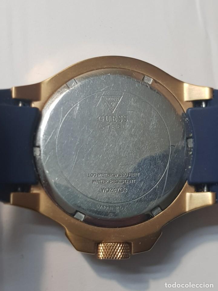 Relojes - Guess: Reloj Guess Caballero 100M/330FT funcionando cristal tocado - Foto 5 - 246303670