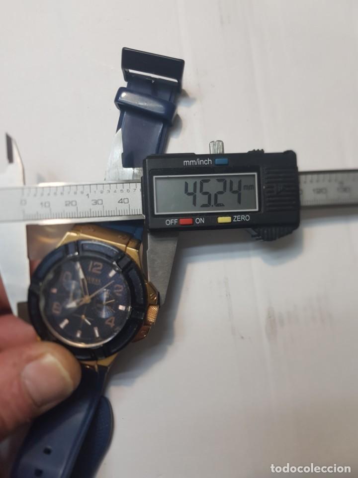 Relojes - Guess: Reloj Guess Caballero 100M/330FT funcionando cristal tocado - Foto 7 - 246303670