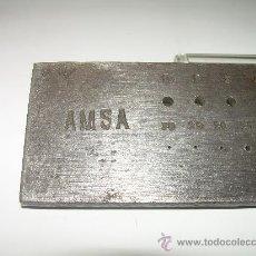 Herramientas de relojes: ANTIGUO BANQUILLO DE ACERO. Lote 23002796