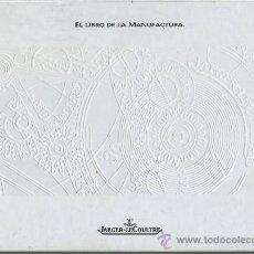 Herramientas de relojes: LIBRO - EL LIBRO DE LA MANUFACTURA - JAEGER-LECOULTRE - EDICION 1998/1999 - 234 PGS - RELOJ. Lote 28318062