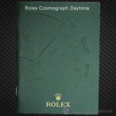Herramientas de relojes: REF.: F014 --- MANUAL ROLEX DAYTONA EN ESPAÑOL AÑO 2005 ---. Lote 33000291