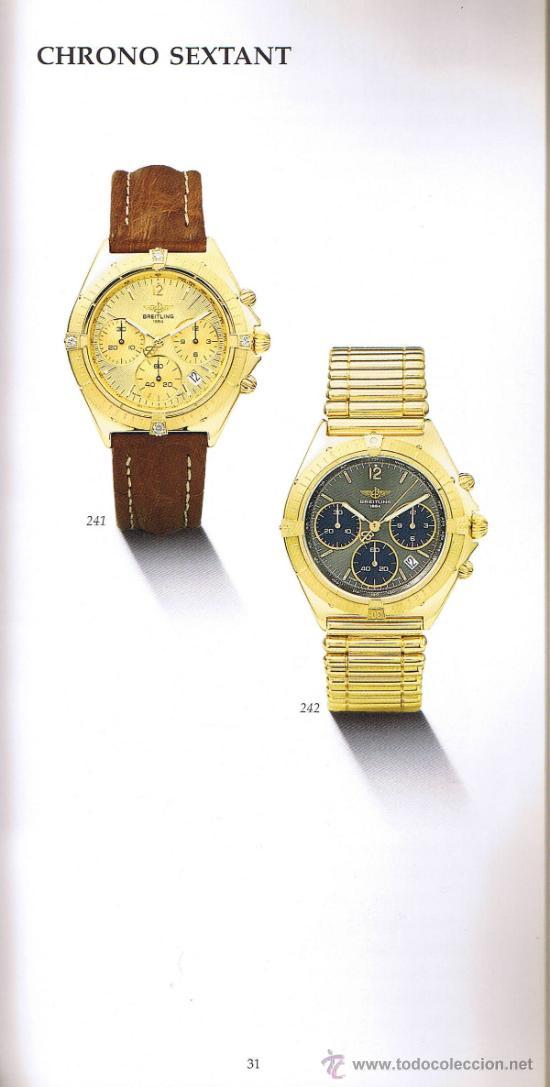 Herramientas de relojes: CATÁLOGO RELOJES BREITLING 1884 - HISTORIA EN 80 PÁGINAS - EDICIÓN 1991 - Foto 3 - 35544587