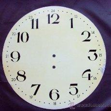 Herramientas de relojes: ESFERA RELOJ DE PARED CON CUERDA MANUAL. Lote 38600567