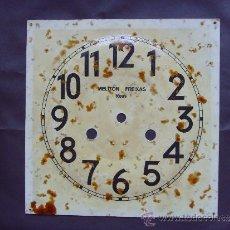 Herramientas de relojes: ESFERA RELOJ DE PARED CON CUERDA MANUAL. Lote 38600915