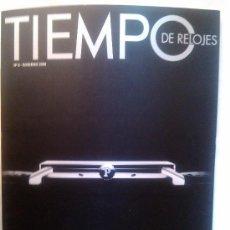 Herramientas de relojes: REVISTA TIEMPO DE RELOJES Nº 8 2009 PIAGET ALTIPLANO HUBLOT BVULGARI OMEGA. Lote 38608519