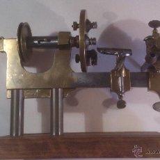 Herramientas de relojes: TORNO DE RELOJERO S.XIX. Lote 39414641