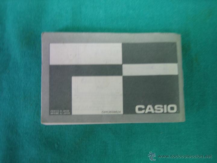 Herramientas de relojes: Manual de instrucciones de reloj Casio modelo 696 - Foto 3 - 39719594