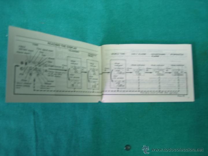 Herramientas de relojes: Manual de instrucciones de reloj Casio modelo 696 - Foto 4 - 39719594