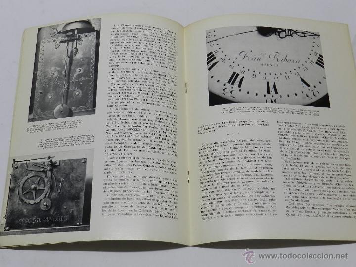 Herramientas de relojes: Relojes madrileños. Conferencia leída en la Asociación de María Inmaculada de Funcionarios del Ejérc - Foto 2 - 39834194