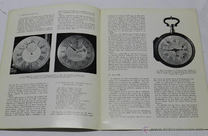 Herramientas de relojes: Relojes madrileños. Conferencia leída en la Asociación de María Inmaculada de Funcionarios del Ejérc - Foto 3 - 39834194