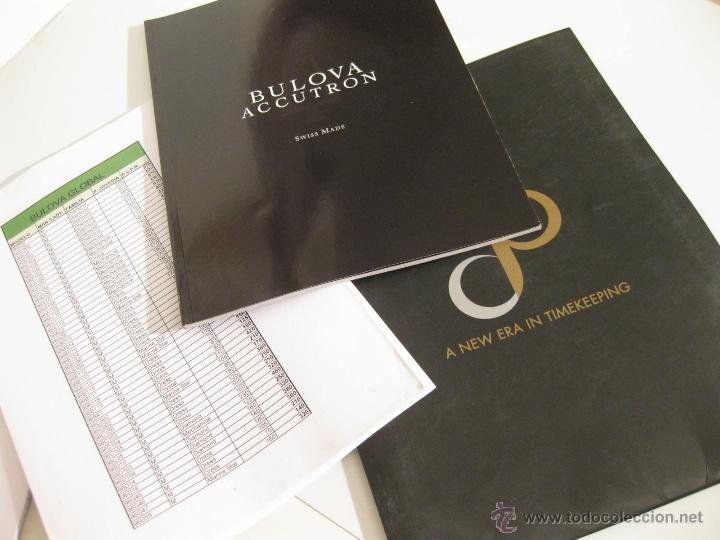 CATALOGO DE RELOJES BULOVA CON LISTA DE PRECIOS Y REFERENCIAS - 2010 (Relojes - Herramientas y Útiles de Relojero )
