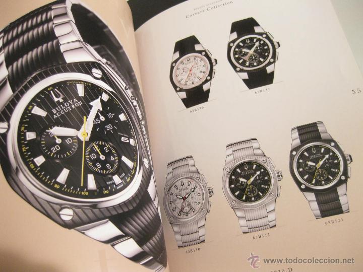 Herramientas de relojes: CATALOGO DE RELOJES BULOVA CON LISTA DE PRECIOS Y REFERENCIAS - 2010 - Foto 2 - 42201517