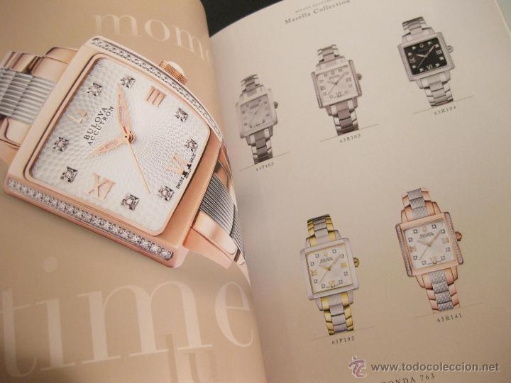 Herramientas de relojes: CATALOGO DE RELOJES BULOVA CON LISTA DE PRECIOS Y REFERENCIAS - 2010 - Foto 3 - 42201517