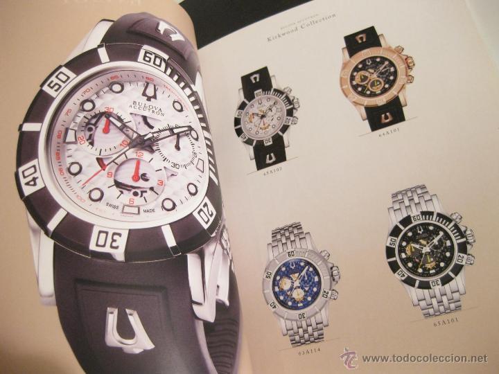 Herramientas de relojes: CATALOGO DE RELOJES BULOVA CON LISTA DE PRECIOS Y REFERENCIAS - 2010 - Foto 4 - 42201517
