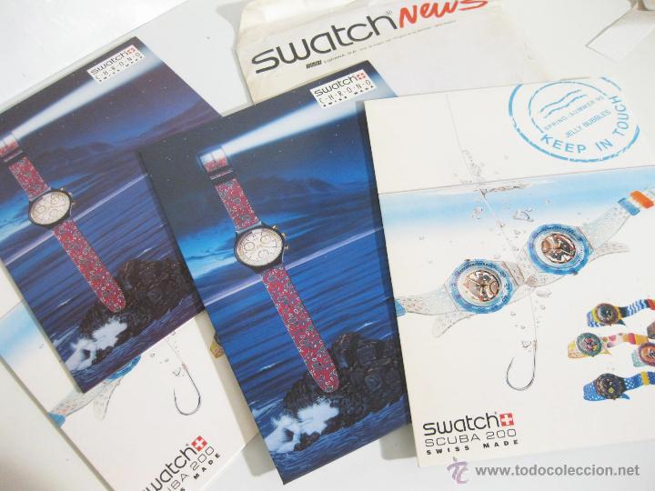 SOBRE DEL AÑO 1992 CON PUBLICIDAD DE SWATCH - CARTELES DE LA TEMPORADA PRIMAVERA VERANO (Relojes - Herramientas y Útiles de Relojero )
