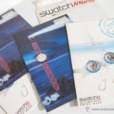 Herramientas de relojes: SOBRE DEL AÑO 1992 CON PUBLICIDAD DE SWATCH - CARTELES DE LA TEMPORADA PRIMAVERA VERANO. Lote 42202893