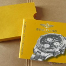Herramientas de relojes: LIBRO GUIA O MANUAL DE INSTRUCCIONES PARA EL RELOJ BREITLING CHRONO COLT QUARTZ. Lote 42440334