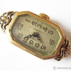 Herramientas de relojes: RELOJ DE PULSERA DE SEÑORA CHAPADO EN ORO MARCA KJ - KOLLMAR AND JOURDAN - AÑOS 20. Lote 42509237