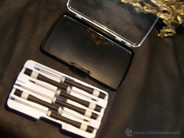 Herramientas de relojes: Destornilladores de máxima presicion y calidad, utiles para reloj y otros mecanismos - Foto 19 - 42566452