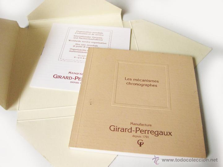 Herramientas de relojes: FOLLETO ILUSTRATIVO DE LOS RELOJES GIRARD PERREGAUX LAUREATO - Foto 2 - 42886297