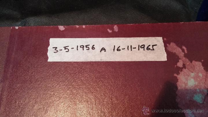 EJEMPLARES ENCUADERNADOS DEL DIARIO IDEAL... 3-5-1956 AL 16-11-1965 (Relojes - Herramientas y Útiles de Relojero )