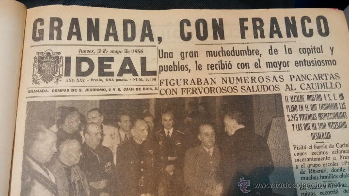 Herramientas de relojes: Ejemplares encuadernados del Diario IDEAL... 3-5-1956 al 16-11-1965 - Foto 2 - 43427820