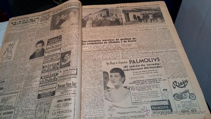 Herramientas de relojes: Ejemplares encuadernados del Diario IDEAL... 3-5-1956 al 16-11-1965 - Foto 3 - 43427820