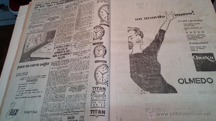 Herramientas de relojes: Ejemplares encuadernados del Diario IDEAL... 3-5-1956 al 16-11-1965 - Foto 6 - 43427820