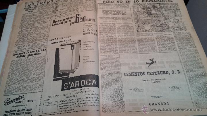 Herramientas de relojes: Ejemplares encuadernados del Diario IDEAL... 3-5-1956 al 16-11-1965 - Foto 7 - 43427820