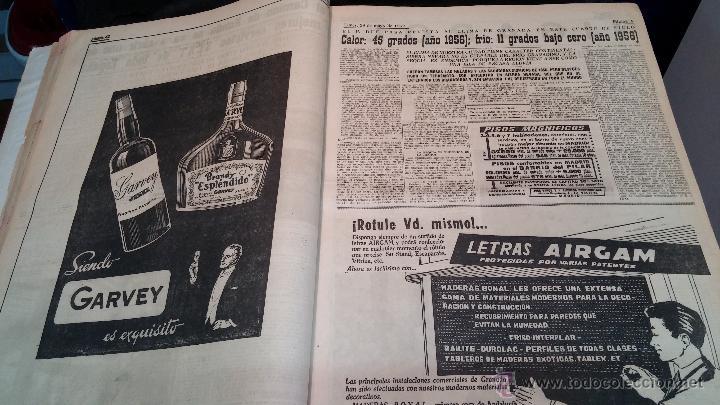 Herramientas de relojes: Ejemplares encuadernados del Diario IDEAL... 3-5-1956 al 16-11-1965 - Foto 9 - 43427820
