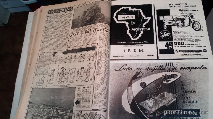 Herramientas de relojes: Ejemplares encuadernados del Diario IDEAL... 3-5-1956 al 16-11-1965 - Foto 10 - 43427820