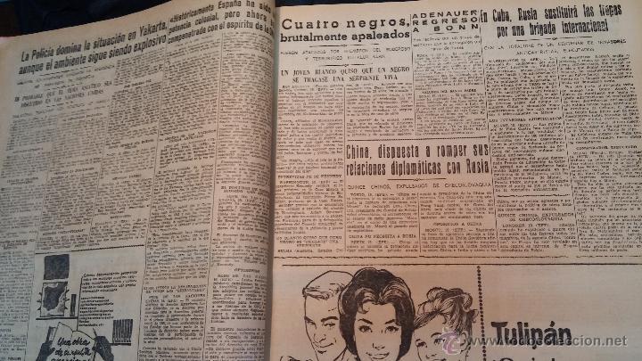 Herramientas de relojes: Ejemplares encuadernados del Diario IDEAL... 3-5-1956 al 16-11-1965 - Foto 12 - 43427820