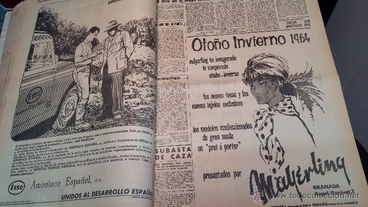 Herramientas de relojes: Ejemplares encuadernados del Diario IDEAL... 3-5-1956 al 16-11-1965 - Foto 15 - 43427820
